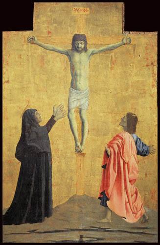 Piero della Francesca - Kreuzigung
