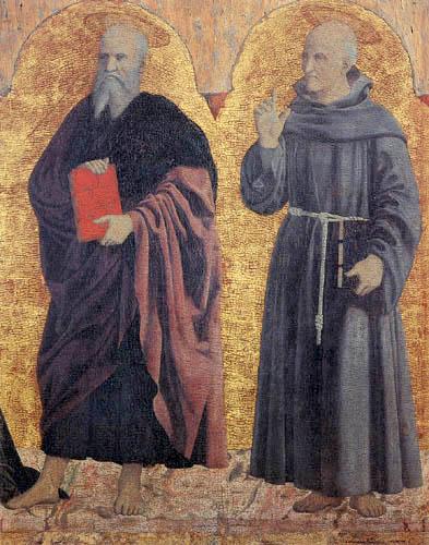Piero della Francesca - John the Baptist