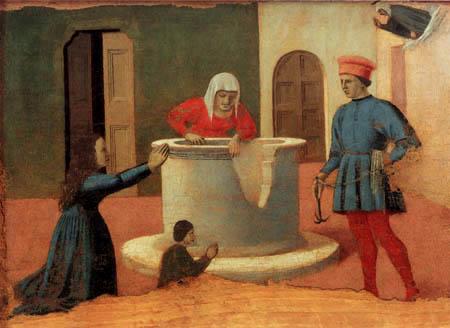 Piero della Francesca - Wunder der hl. Elisabeth