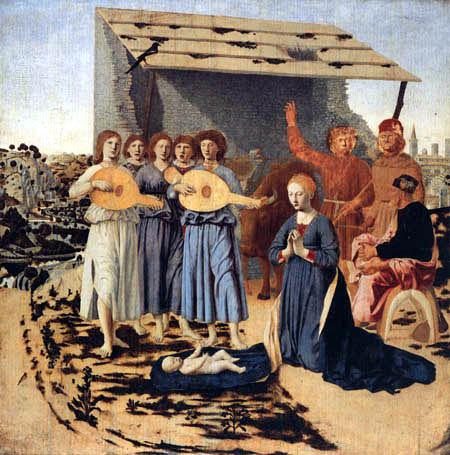 Piero della Francesca - Birth of Jesus