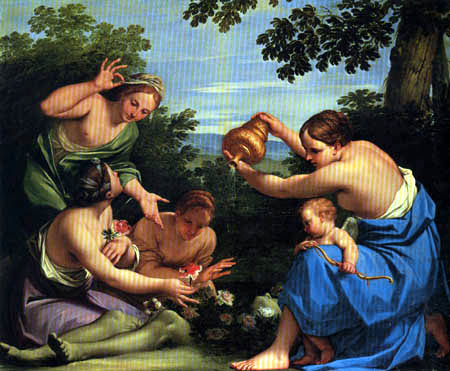 Marcantonio Franceschini - The Metamorphosis of the Dead Adonis