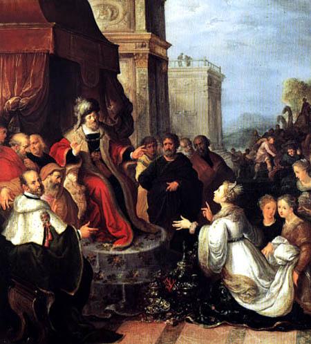 Frans Francken the Younger - Salomon und die Königin von Saba