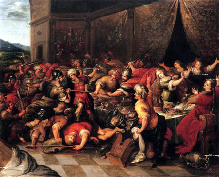 Frans Francken the Younger - The Feast of Perseus and Andromeda