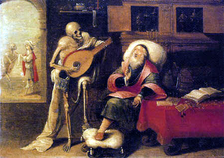 Frans II Francken le jeune - Death and the Miser