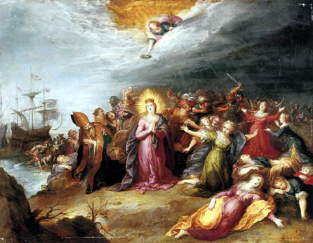Frans Francken the Younger - The Martyrdom of Saint Ursula