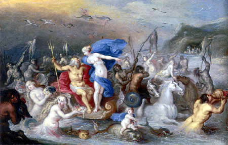 Frans Francken the Younger - The Triumph of Neptune and Amphitrite