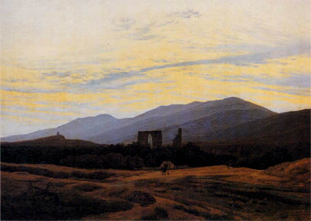 Caspar David Friedrich - The monastery ruin Eldena