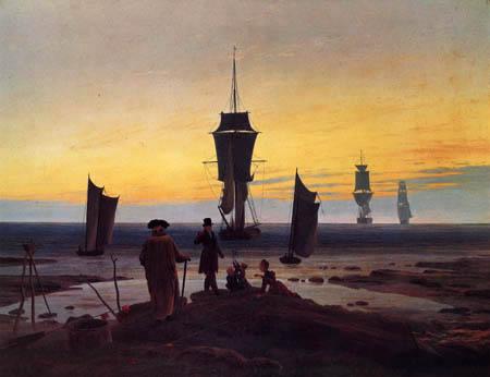 Caspar David Friedrich - The life stages
