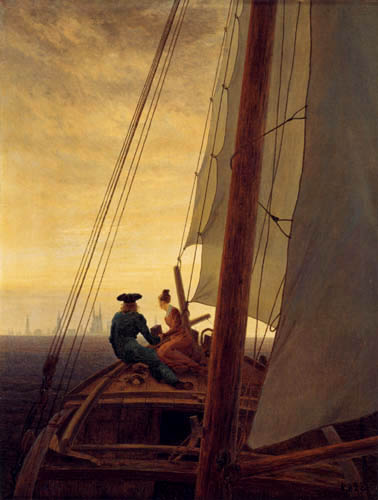 Caspar David Friedrich - Le voilier