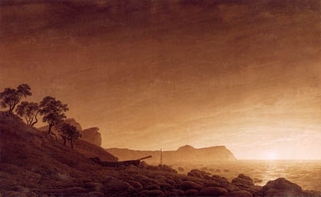 Caspar David Friedrich - View of Arcona