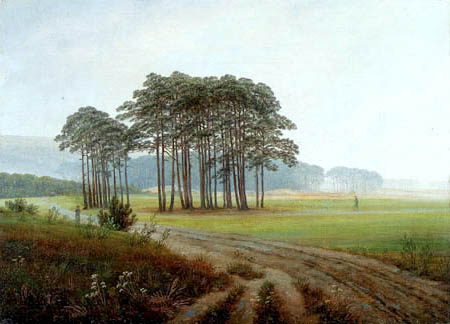 Caspar David Friedrich - Le Midi