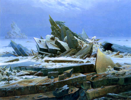 Caspar David Friedrich - Arctic Sea