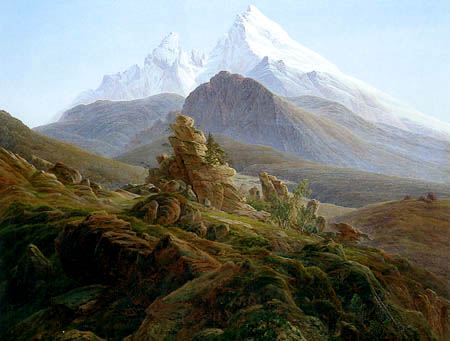 Caspar David Friedrich - The Watzmann