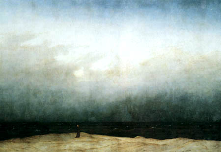 Caspar David Friedrich - The monk at the sea