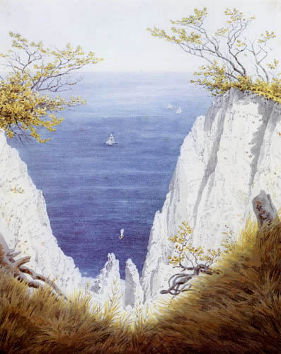 Caspar David Friedrich - Chalk cliff