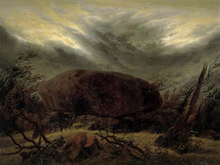 Caspar David Friedrich - Megalithic Grave in Autumn