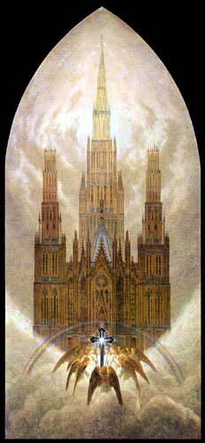 Caspar David Friedrich - Die Kathedrale