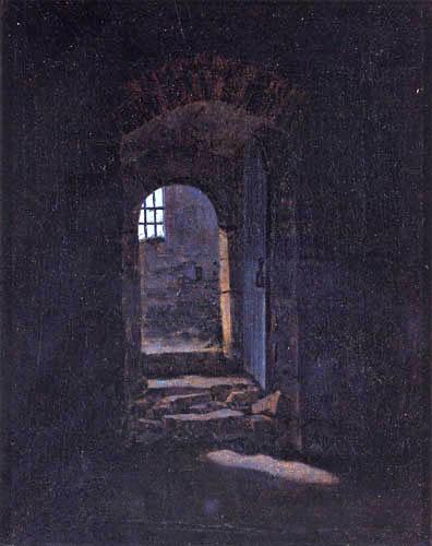 Caspar David Friedrich - Door near Meissen