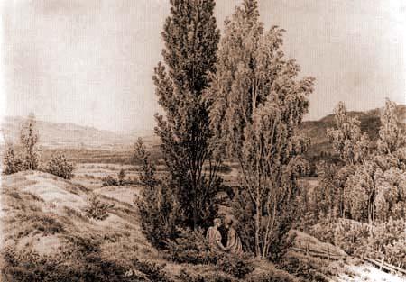 Caspar David Friedrich - Sommer