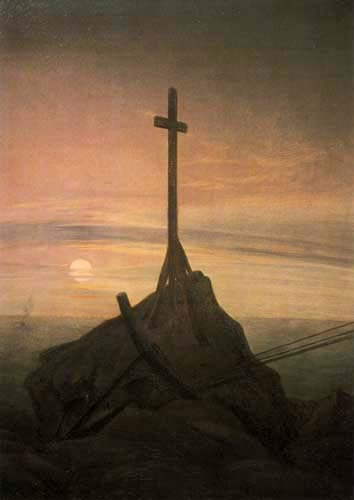 Caspar David Friedrich - The Cross on the Baltic Sea