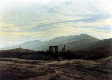 Caspar David Friedrich - Ruin in the Giant Mountains