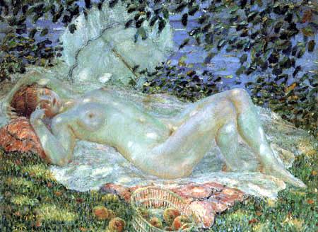 Frederick Carl Frieseke - Autumn