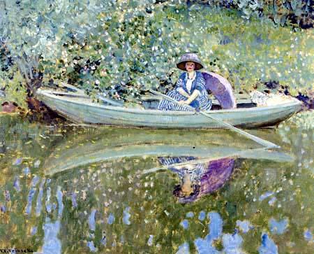 Frederick Carl Frieseke - On the River