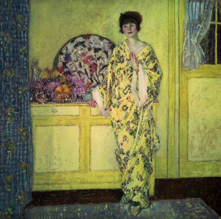 Frederick Carl Frieseke - The Yellow Room