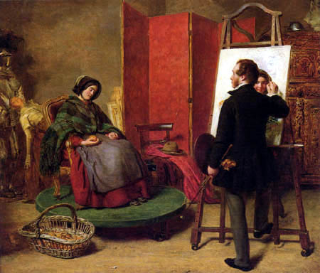 William Powell Frith - The Sleeping Model