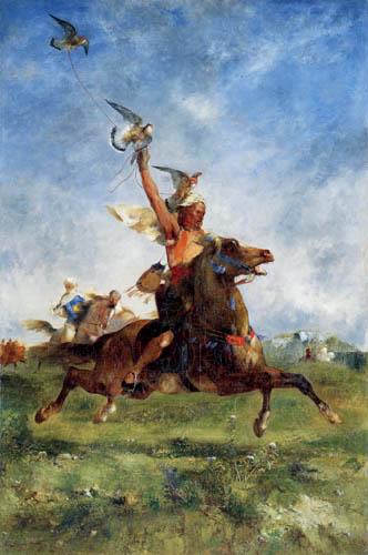 Eugene Fromentin - Ein arabischer Falkner