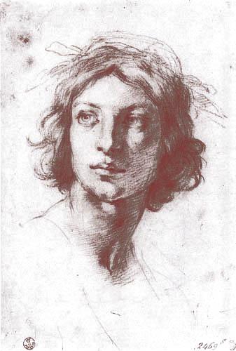 Francesco Furini - Portrait of a young man