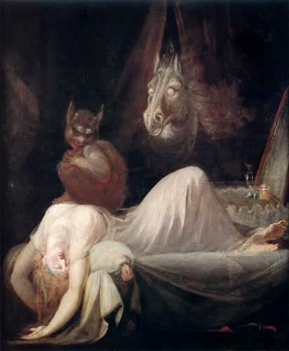 Henry Fuseli - Nightmare I