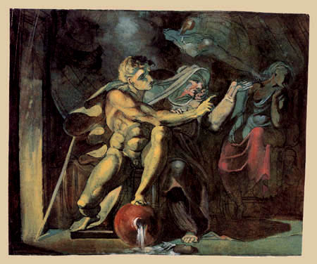 Henry Fuseli - Perseus bei den Graien
