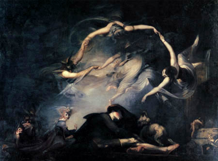 Henry Fuseli - The dream of the shepherd
