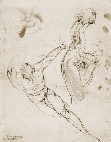 Henry Fuseli - Ungedeutete Szene