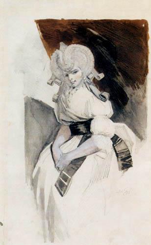 Johann Heinrich Füssli - Mrs. Füssli