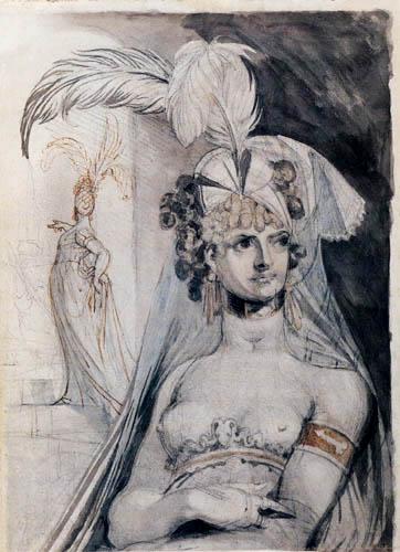 Henry Fuseli - A courtesan