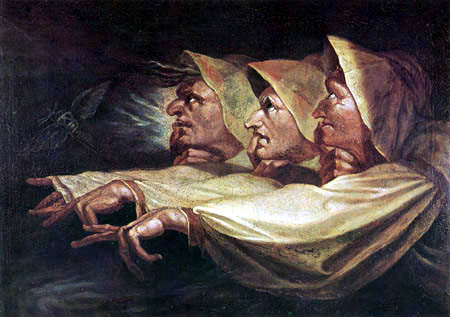 Henry Fuseli - Three witches