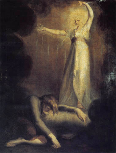 Henry Fuseli - St. John´s vision of the seven candlesticks