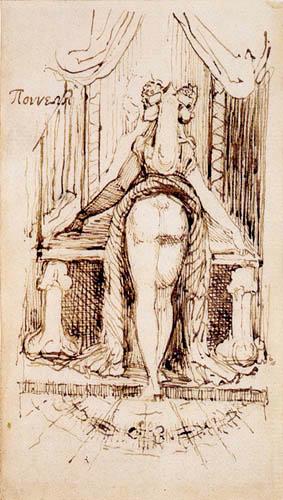 Johann Heinrich Füssli - Mrs. Füssli vor dem Putztisch