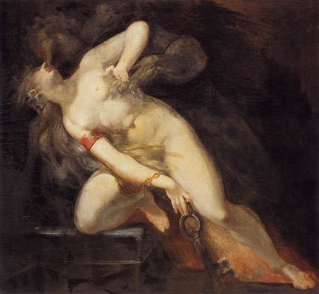 Henry Fuseli - Sin and death