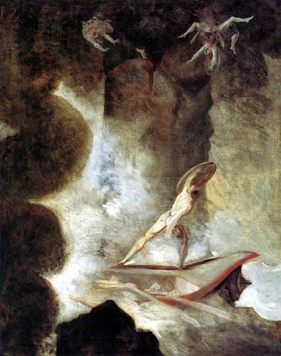 Henry Fuseli - Odysseus between Skylla and Charybdis