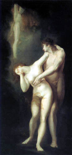 Henry Fuseli - The Dismission of Adam and Eve from Paradise