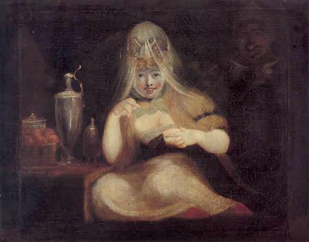Henry Fuseli - Fairy Mab I