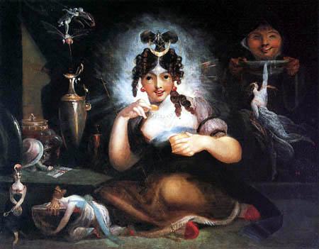 Johann Heinrich Füssli - Fairy Mab III