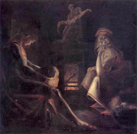 Johann Heinrich Füssli - Das Schweigen