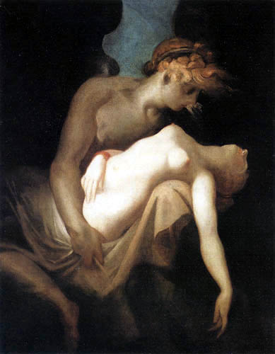 Henry Fuseli - Cupid and Psyche