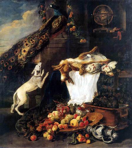 Jan Fyt - Still life with animals