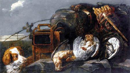 Jan Fyt - Hunt still life