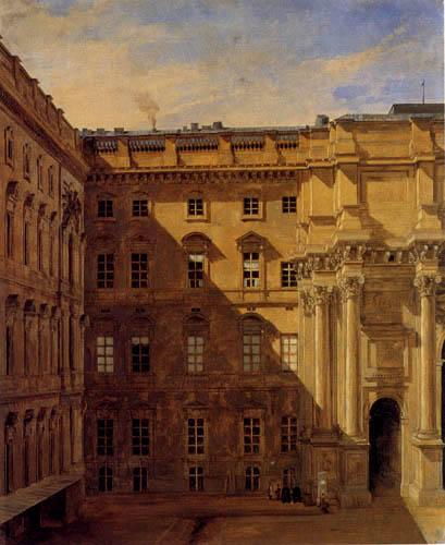 Eduard Gaertner - Bastille, Berlin